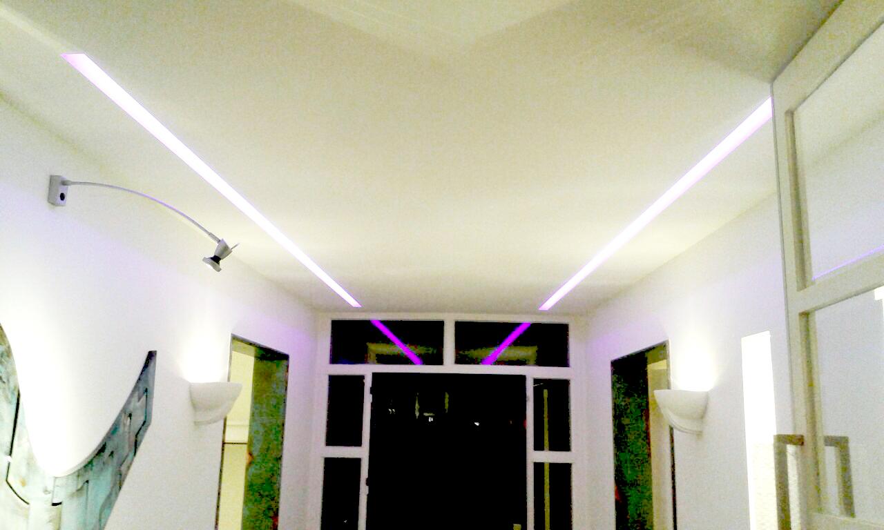 Verlichting villa